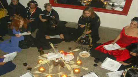 Coven Of Witches Spell Casting Witchcraft